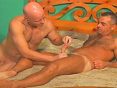 John Marcus breaks out put emphasize cockrings added to dildos added to fucks himself