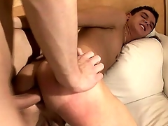 Two Texan twink chum toys get into some hot plus nasty anal make believe