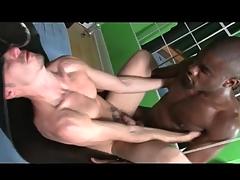 Thick black cock fucks an bore bareback