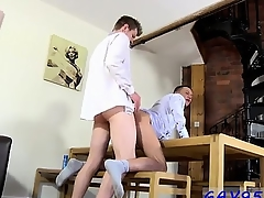 Gay movie Taking evenly standing, missionary, stiff and deep, he