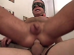 Gay amateurs in masks have hot anal sexual intercourse