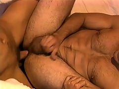 Handsome cop with great muscles gets a hard dick connected with play with
