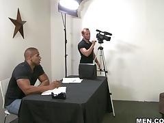 Robert Axel & Ryan Evans in Getting The Part Scene