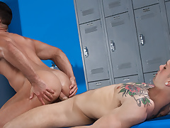 Twit Conners & Sebastian Kross in Towel Off, Scene 01 - HotHouse