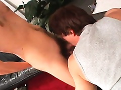 Sexy slender young twink gets his narrow ass pounded hard for money